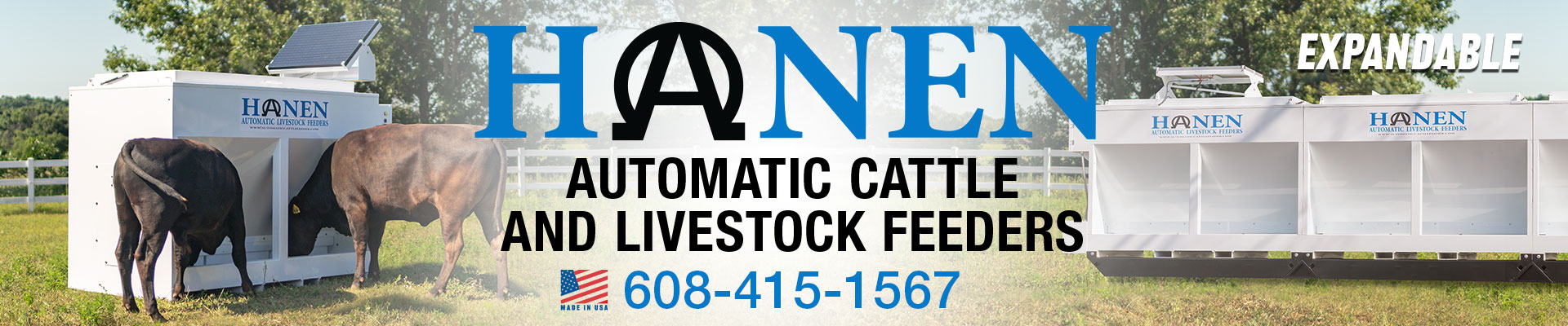 Welcome to Hanen Automatic Cattle Feeders