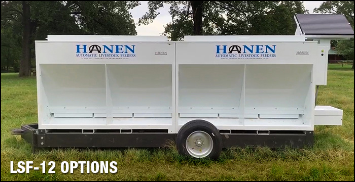 hanen automatic cattle feeder upgrade options